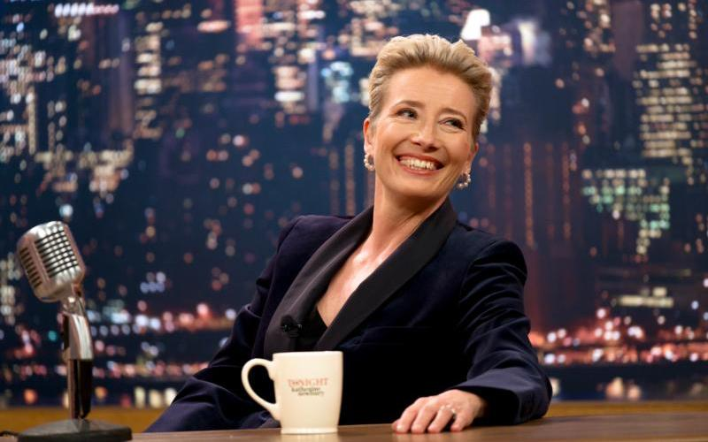 """Emma Thompson stars in a scene from the movie """"Late Night."""" (CNS photo by Amazon Studios)"""