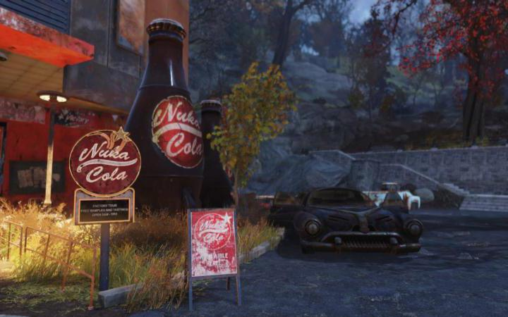 "This is a scene from the video game ""Fallout 76."""
