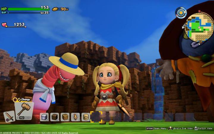 """This is a scene from the video game """"Dragon Quest Builders 2."""" (CNS photo by Square Enix)"""