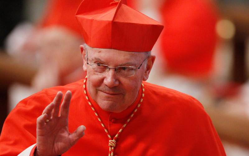 Cardinal William J. Levada, the former archbishop of San Francisco and of Portland, Ore., and the retired prefect for the Vatican Congregation for the Doctrine of the Faith, died in Rome Sept. 26, 2019, at age 83. (CNS photo by Paul Haring)
