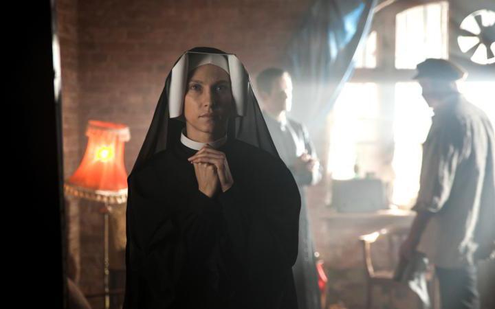 """Kamila Kaminska stars in a scene from the movie """"Love and Mercy: Faustina."""""""