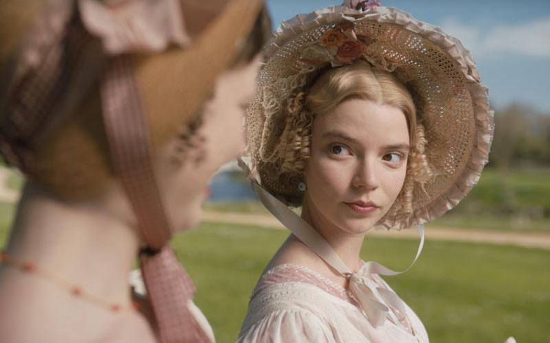 "Anya Taylor-Joy stars in a scene from the movie ""Emma."""