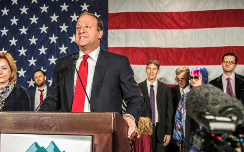 Colorado Gov. Jared Polis is seen in this 2018 file photo.
