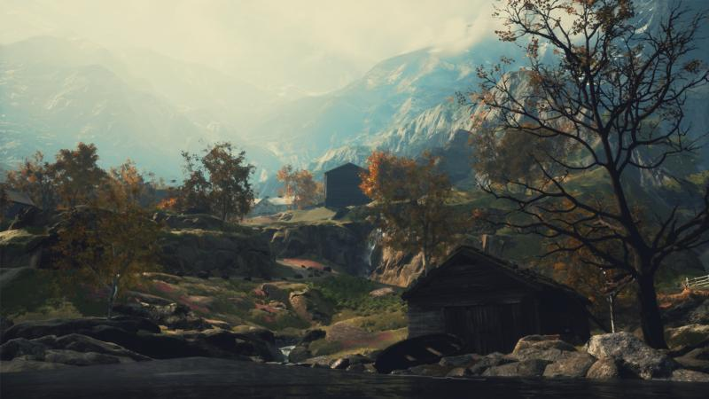 """This is a scene from the video game """"Draugen."""""""