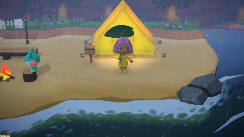 """This is a scene from the video game """"Animal Crossing: New Horizons."""""""
