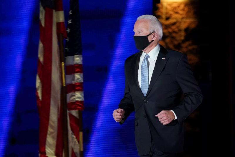 Biden quotes priest's hymn 'On Eagle's Wings' in victory speech   Catholic  Courier