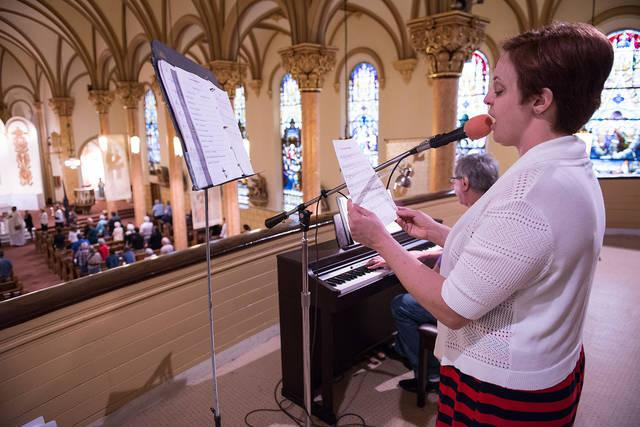 <p>A scholarship from the Ginny Miller Scholarship Fund for Music Ministers will help Samantha Hockey continue her studies at Hochstein School of Music and Dance in Rochester. Hockey is a cantor at Holy Family Church in Auburn.  </p>