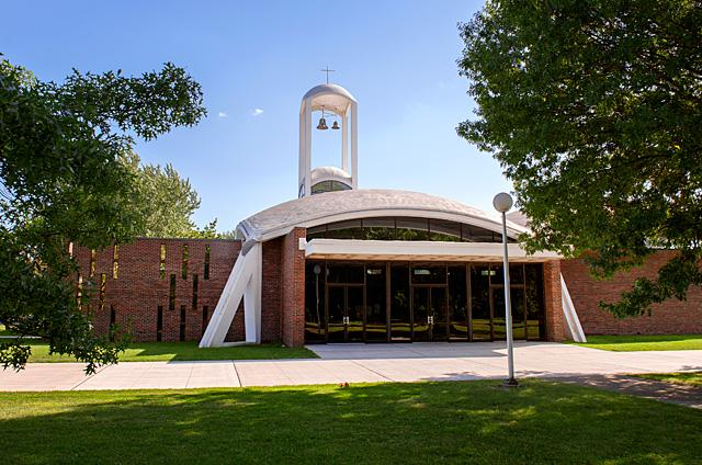 Effective July 14, Holy Name of Jesus parish in Greece will merge with St. Charles Borromeo parish. Weddings, funerals and other occasional Masses will still be held at Holy Name of Jesus, but all regularly scheduled Masses will be celebrated at St. Charles Borromeo.