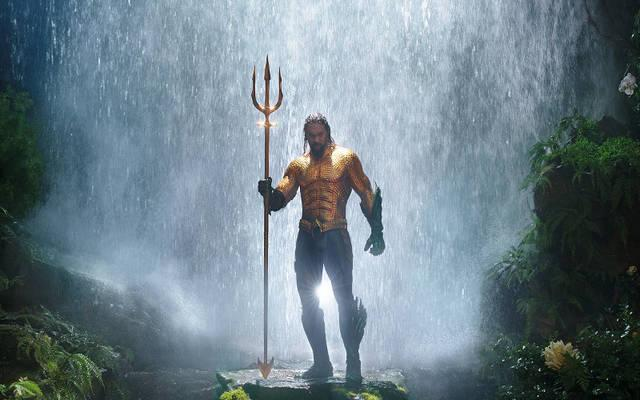<p>Jason Momoa stars in a scene from the movie &ldquo;Aquaman.&rdquo; (CNS photo by Warner Bros.)  </p>