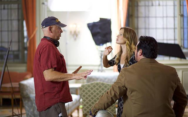 <p>Actor-director Nick Searcy is seen on the set of the movie &ldquo;Gosnell: The Trial of America&rsquo;s Biggest Serial Killer.&rdquo; St. Francis and St. Clare Parish will host two free showings of the film March 27 at its parish center in Waterloo. (CNS photo by Hat Tip Films LLC)  </p>