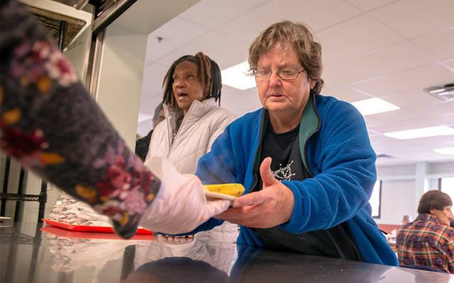 <p>Meals are distributed at Elmira Community Kitchen March 14.  </p>