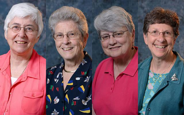 <p>The Sisters of St. Joseph of Rochester elected a new leadership team July 13. (Photo courtesy of the Sisters of St. Joseph of Rochester)  </p>