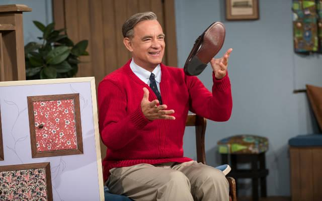 <p>Tom Hanks stars in a scene from the movie &ldquo;A Beautiful Day in the Neighborhood.&rdquo; (CNS photo by Sony)  </p>