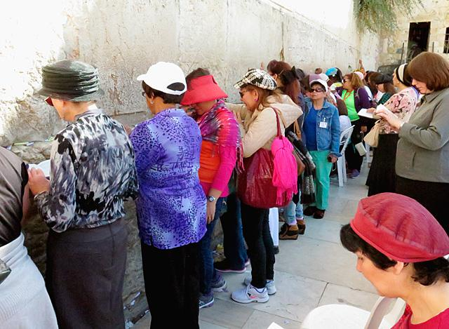 Praying at Western Wall a 'holy experience' | Catholic Courier