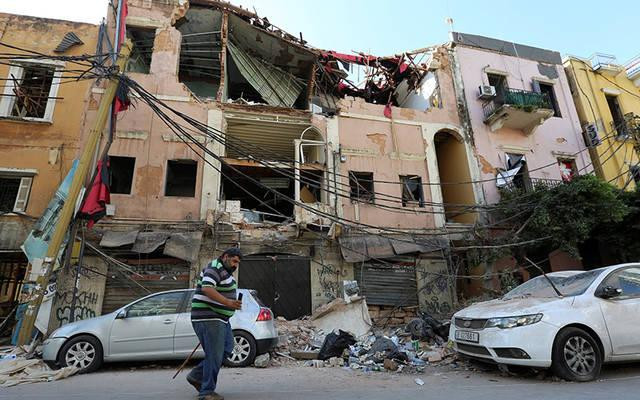 <p>A man walks past rubble of damaged buildings Aug. 7, 2020, following blasts at Beirut&rsquo;s port area. Three days after a massive explosion ripped through Lebanon&#237;s capital city, the death toll has climbed to more than 150, while the total number of injured soared to at least 5,000, according to data released by Lebanon&rsquo;s health ministry. (CNS photo by Aziz Taher/Reuters)  </p>