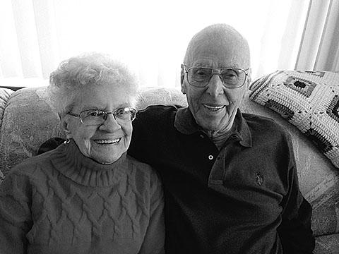 Eugene & Helen Gepert are celebrating their 73rd year of marriage this year.