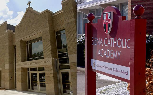 <p>Our Lady of Mercy School for Young Women will lease the former Siena Catholic Academy building for the 2020-21 school year. (File photo)  </p>