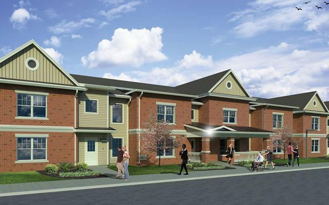 <p>Providence Housing&rsquo;s new Happiness Housing II Apartments in Canandaigua will be move-in ready in November. (Rendering courtesy of Providence Housing)  </p>