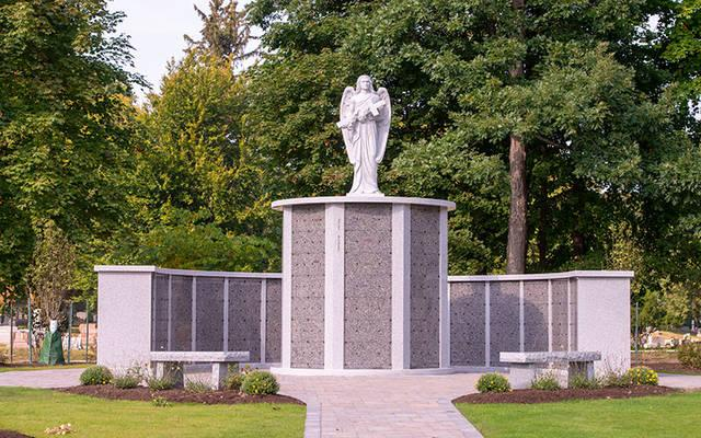<p>Holy Sepulchre Cemetery's Angels of God Cremation Garden is the newest addition to the 149-year-old cemetery</p>