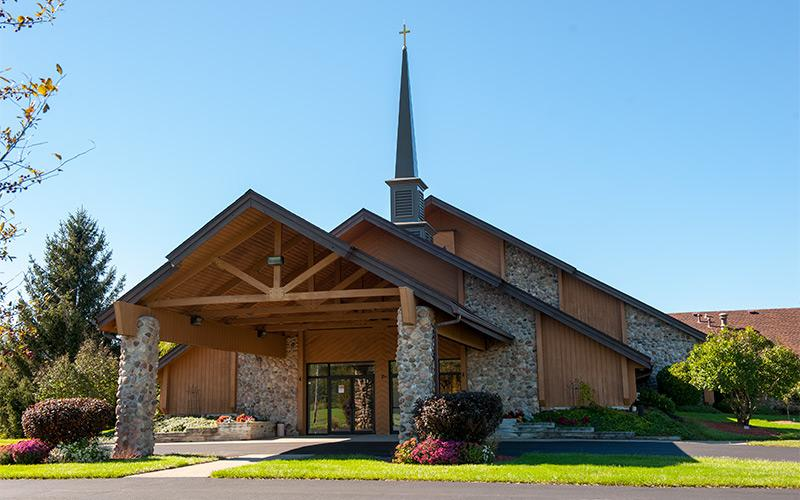 St. Elizabeth Ann Seton Church in Hamlin.