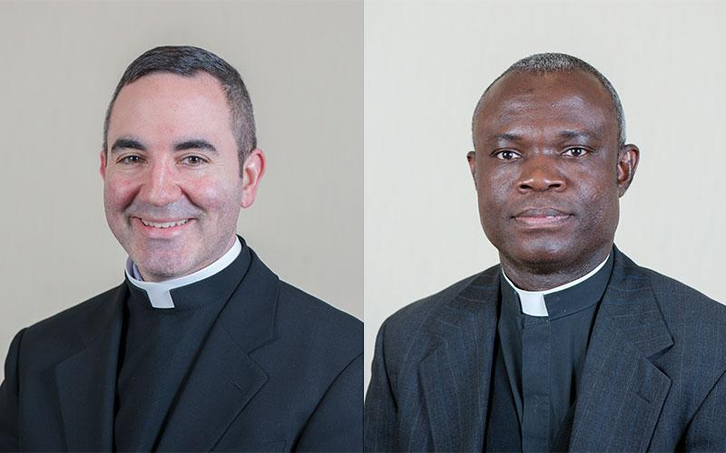 Photo of Fathers William Coffas and Anthony Nketiah