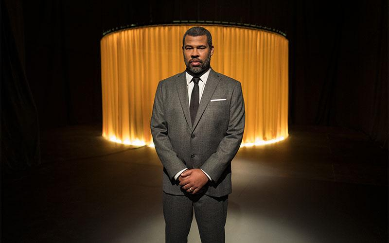 """Jordan Peele as """"The Narrator"""" of the CBS All Access series, """"The Twilight Zone'. (Photo by Robert Falconer/CBS)"""