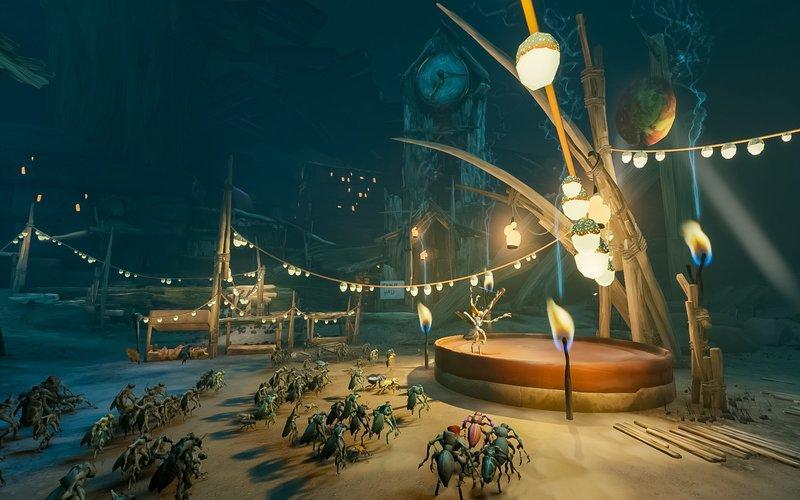 scene from the video game Metamorphosis