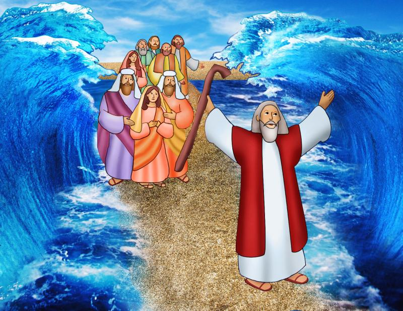 With God's help, Moses parts the Red Sea | Catholic Courier