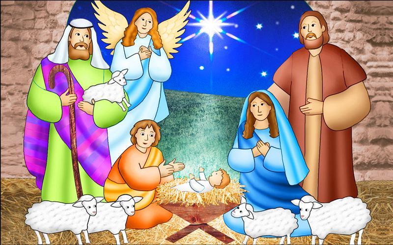 THE GOOD SHEPHERD Christmas Nativity Star Lamb Angel Jesus Dress It Up Buttons