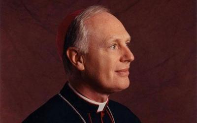 Bishop Howard J. Hubbard was installed as Bishop of Albany in 1977.