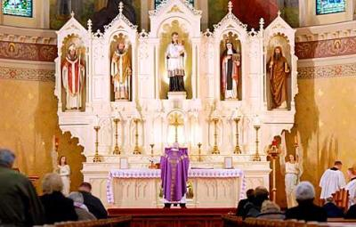 A traditional Latin Mass is said at Rochester's St. Stanislaus Church.