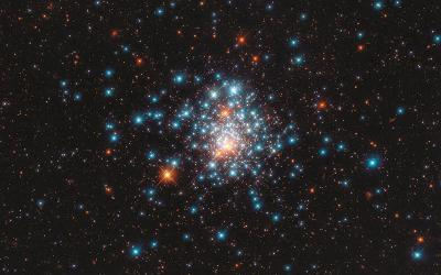 <p>Colorful stars are packed close together in the globular cluster NGC 1805 in the Dorado constellation, in this image from the Hubble Space Telescope released Sept. 11, 2020. The Vatican Observatory foundation has new podcast as well as a new website and online store where you can buy posters of outer spaces scenes. (CNS photo by J. Kalirai, NASA/ESA/Hubble via Reuters)  </p>