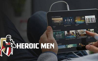 <p>This is an image from the Heroic Men website, a &ldquo;100% Catholic&rdquo; streaming platform for films, TV shows, documentaries and short films aimed at helping Catholic men strengthen their faith. (CNS photo courtesy Heroic Men)  </p>