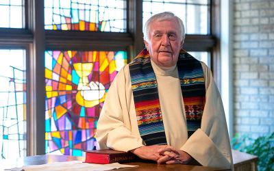 <p> Father Michael Bausch will reach senior status in June after 42 years of priestly ministry.</p>