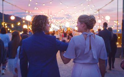 <p>Jedidiah Goodacre and Rose Reid star in a scene from the movie &ldquo;Finding You.&rdquo; The Catholic News Service classification is A-III &mdash; adults. The Motion Picture Association rating is PG &mdash; parental guidance suggested. Some material may not be suitable for children. (CNS photo by Anthony Courtney/Roadside Attractions)  </p>