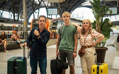 <p>Tom Hollander, Tom Taylor and Saskia Reeves star in the TV show &ldquo;Us&rdquo; airing on PBS June 20 and 27, 2021. (CNS photo by Colin Hutton/Drama Republic and MASTERPIECE via PBS)  </p>