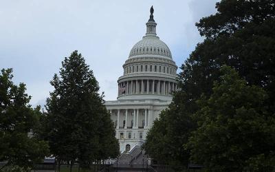 <p> The U.S. Capitol is seen in Washington June 13, 2021. </p>