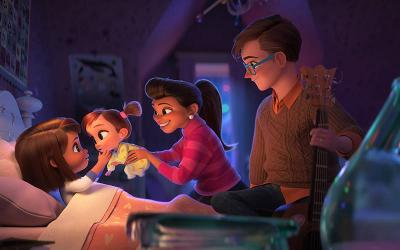 """<p>This is a scene from the animated movie """"The Boss Baby: Family Business.""""  </p>"""