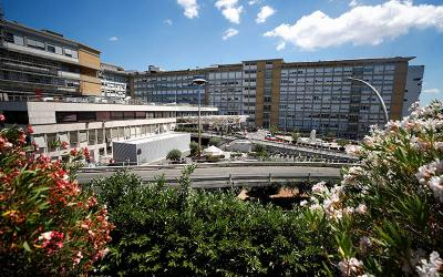 <p>This is a view outside Gemelli hospital in Rome where Pope Francis had a prescheduled colon surgery July 4, 2021. Pope Francis&rsquo; recovery from colon surgery continues to go well, the Vatican said. (CNS photo by Guglielmo Mangiapane/Reuters)  </p>