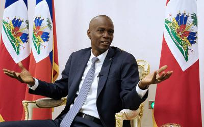 <p>Haitian President Jovenel Mo&#239;se is pictured in a Jan. 11, 2020, photo. The president was assassinated in an attack in the early hours of July 7 at his home outside of the capital, Port-au-Prince, the prime minister said. His wife was also shot in the attack; her condition was not immediately clear. (CNS photo by Valerie Baeriswyl/Reuters)  </p>
