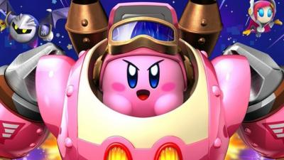 "This is a still image from the video game ""Kirby: Planet Robobot."" The Catholic News Service classification is A-I -- general patronage. The Entertainment Software Rating Board rating is E -- everyone."