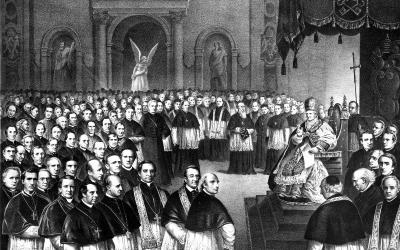 Dec. 8, 2019, will mark the 150th anniversary of the opening of the First Vatican Council. On Dec. 8, 1869, over 700 bishops gathered in St. Peter's for the 20th ecumenical council and, most famously, defined the doctrine of papal infallibility.