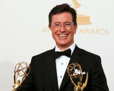 """Stephen Colbert, who took over Sept. 8 as host of CBS' """"Late Night"""" program, said in an interview for Canada's Salt and Light Television that his """"Colbert Report"""" character was intended to be a """"well-intentioned, poorly informed, highstatus idiot."""""""