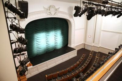A theater in the Archbishop Fulton J. Sheen Center for Thought and Culture in New York City is seen in this undated photo. In 2015 the Archdiocese of New York began evangelizing through theatrical media.