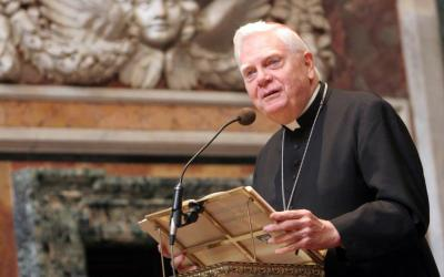 Cardinal Bernard F. Law, who had been one of the United States' most powerful and respected bishops until his legacy was blemished by the devastating sexual abuse of minors by priests in his Archdiocese of Boston, died early Dec. 20 in Rome at the age of 86. He is pictured in a 2007 photo. (CNS photo by Gregory A. Shemitz/Long Island Catholic)
