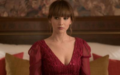 "Jennifer Lawrence stars in a scene from the movie ""Red Sparrow."""