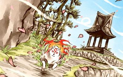 "This is a still image from the video game ""Okami."" The Catholic News Service classification is A-II -- adults and adolescents. The Entertainment Software Rating Board rating is T -- Teen. (CNS photo by Capcom)"