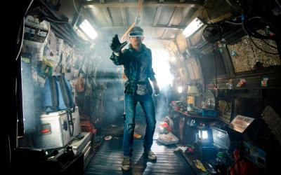 """Tye Sheridan stars in a scene from the movie """"Ready Player One."""" The Catholic News Service classification is A-III -- adults. The Motion Picture Association of America rating is PG-13 -- parents strongly cautioned. Some material may be inappropriate for children under 13. (CNS photo by Warner Bros.)"""