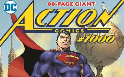 """This is a still of DC Comics series """"Superman in Action Comics No. 1,000."""" 2018 marks eight decades since the first appearance of Superman in Action Comics No. 1. (CNS photo by DC Comics)"""