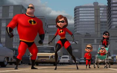 """This is a scene from the animated movie """"Incredibles 2."""" (CNS photo by Disney/Pixar)"""